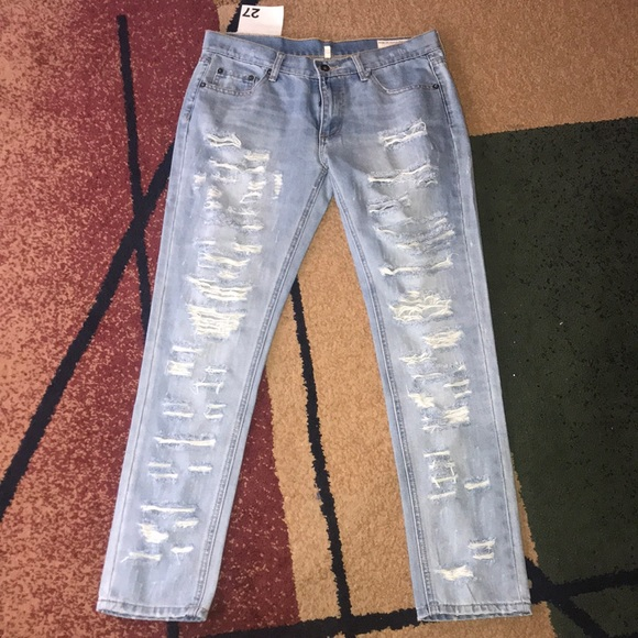 rag & bone Denim - Women's Rag & Bone Jeans 27 skinny boyfriend NWOT